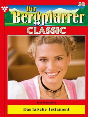 cover image of Der Bergpfarrer Classic 30 – Heimatroman