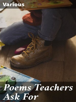cover image of Poems Teachers Ask For