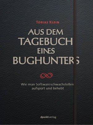 cover image of Aus dem Tagebuch eines Bughunters