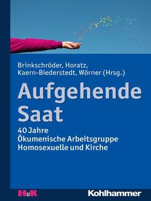 cover image of Aufgehende Saat