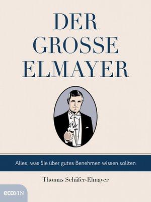 cover image of Der große Elmayer