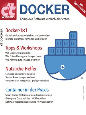 cover image of c't wissen Docker (2019)