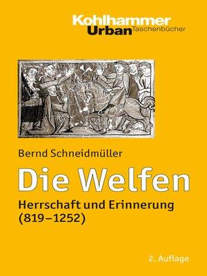 cover image of Die Welfen