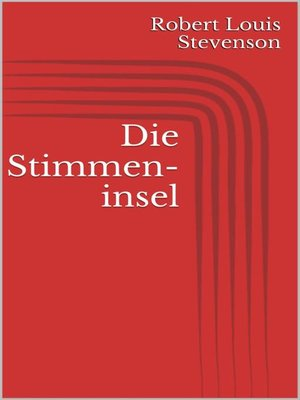 cover image of Die Stimmeninsel