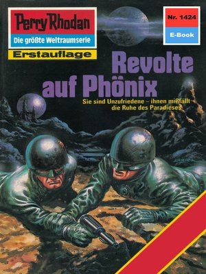 cover image of Perry Rhodan 1424