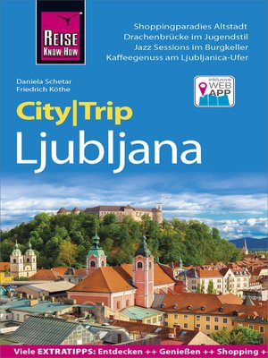 cover image of Reise Know-How CityTrip Ljubljana