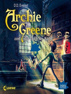 cover image of Archie Greene und das Buch der Nacht