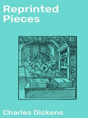cover image of Reprinted Pieces