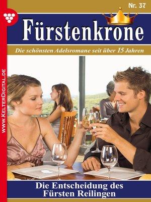 cover image of Fürstenkrone 37--Adelsroman