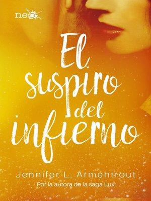 cover image of El suspiro del infierno (Los Elementos Oscuros 3)