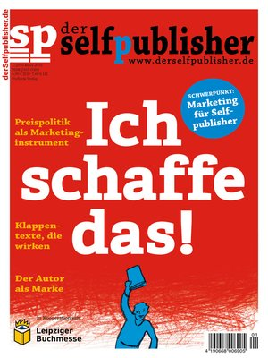 cover image of der selfpublisher 1, 1-2016, Heft 1, März 2016