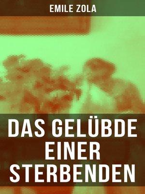 cover image of Das Gelübde einer Sterbenden