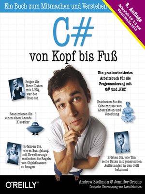 cover image of C# von Kopf bis Fuß