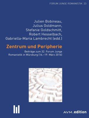 cover image of Zentrum und Peripherie