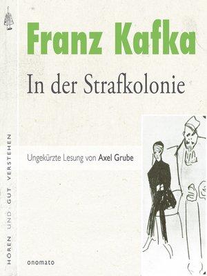 cover image of In der Strafkolonie