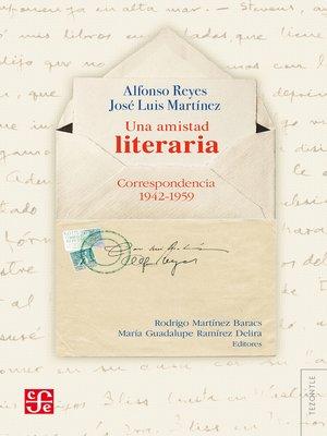 cover image of Una amistad literaria