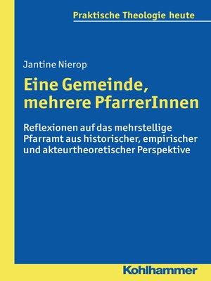 cover image of Eine Gemeinde, mehrere PfarrerInnen