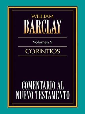 cover image of Comentario al Nuevo Testamento Volume 09