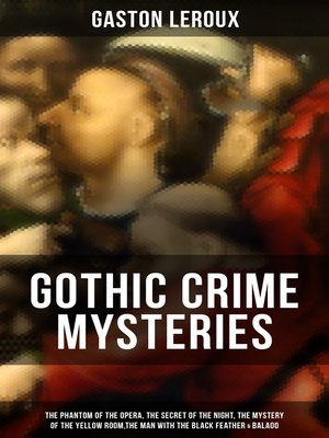 cover image of GOTHIC CRIME MYSTERIES