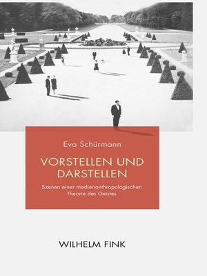 cover image of Vorstellen und Darstellen