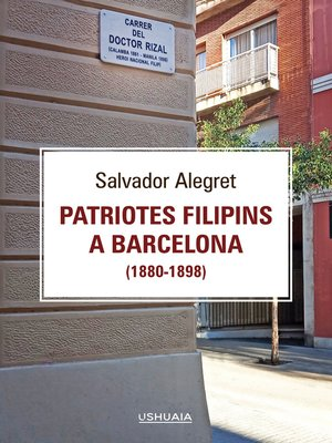 cover image of Patriotes filipins a Barcelona (1880-1898)