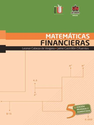 cover image of Matemáticas financieras 5a. Ed