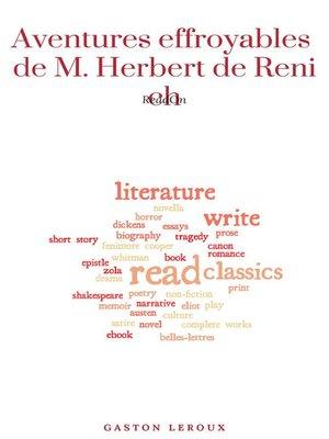cover image of Aventures effroyables de M. Herbert de Renich (Tomes 1 et 2)
