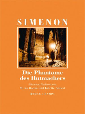 cover image of Die Phantome des Hutmachers