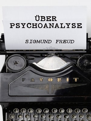 cover image of Über Psychoanalyse
