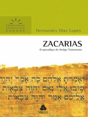 cover image of Zacarias--Comentários Expositivos Hagnos