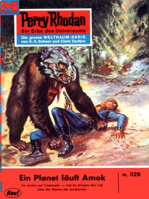 cover image of Perry Rhodan 329