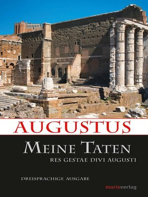 cover image of Meine Taten