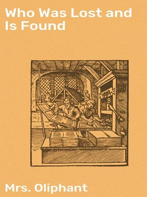 cover image of Who Was Lost and Is Found