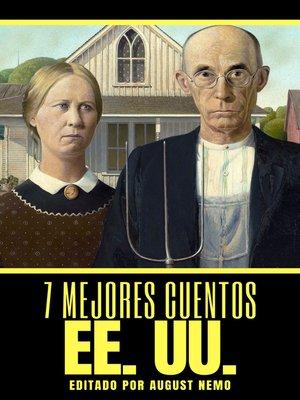 cover image of 7 mejores cuentos--EE. UU.
