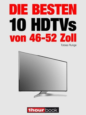 cover image of Die besten 10 HDTVs von 46 bis 52 Zoll