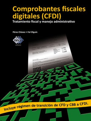 cover image of Comprobantes fiscales digitales (CFDI)