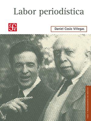 cover image of Labor periodística