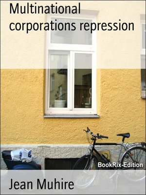 cover image of Multinational corporations repression