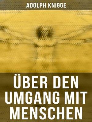 cover image of Über den Umgang mit Menschen