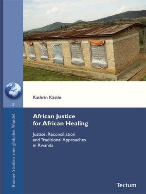cover image of African Justice for African Healing