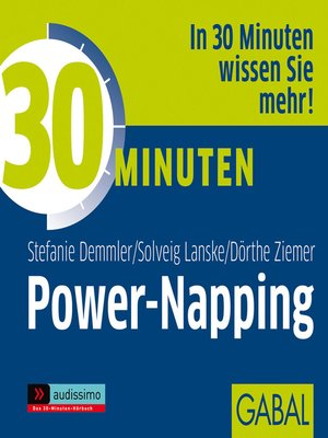 cover image of 30 Minuten Power-Napping