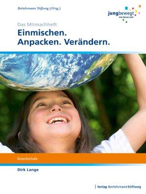 cover image of Einmischen.Anpacken.Verändern