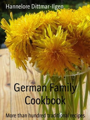 cover image of German Family Cookbook