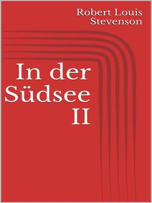 cover image of In der Südsee II