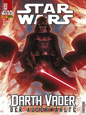 cover image of Star Wars, Comicmagazin 35--Darth Vader--Der Auserwählte