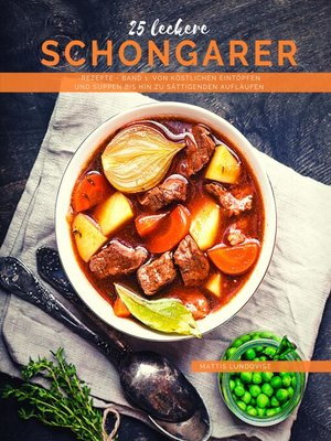 cover image of 25 Leckere Schongarer-Rezepte--Band 1