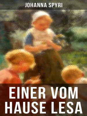 cover image of Einer vom Hause Lesa