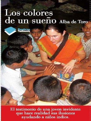 cover image of Los colores de un sueño