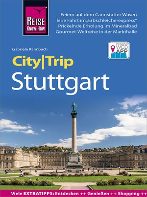cover image of Reise Know-How CityTrip Stuttgart