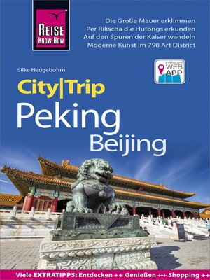 cover image of Reise Know-How CityTrip Peking / Beijing